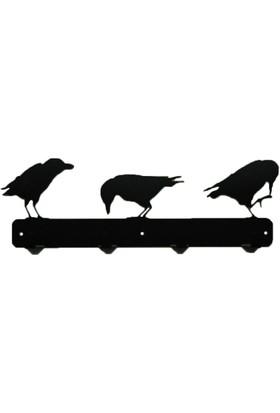 Simge Yapı Dekorasyon Kuş Figürlü Şık ve Dekoratif