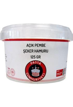 Pasta Cumhuriyeti Jelatinsiz Açık Pembe Şeker Hamuru - 125 Gr