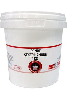 Pasta Cumhuriyeti Jelatinsiz Pembe Şeker Hamuru - 1 Kg