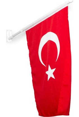 Özgüvenal Duvar Montajlı Bayrak Direği