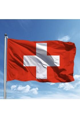 Özgüvenal İsviçre Bayrağı 50 x 77