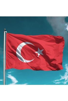 Özgüvenal Türk Bayrağı 50 x 75 Cm Alpaka Kumaş