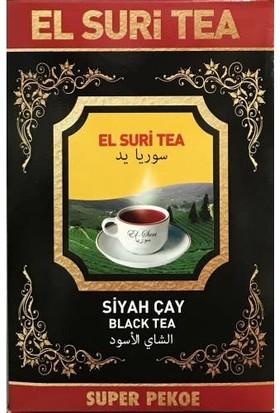El Suri Tea Süper Pekoe Yaprak Saf Seylan Çay Net 800 gr
