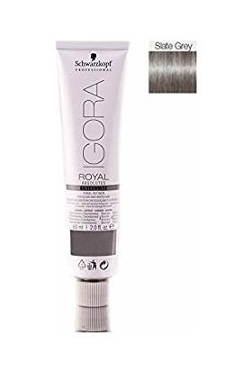 Schwarzkopf Igora Royal Absolutes Gümüş Beyaz Ton Ayarlayıcı Slate Grey