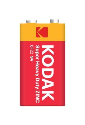 Kodak Shrink Ambalaj Çinko Karbon 9 Volt Pil