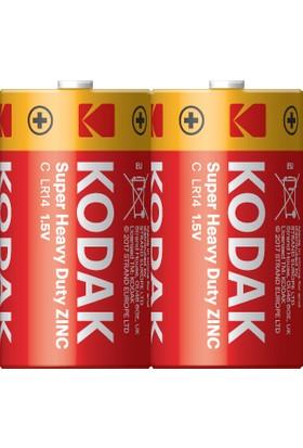 Kodak Çinko Karbon Orta Pil - 2'li Paket