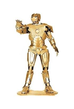 Soico Maket Metal Model Kit-Ironman Altın Rengi