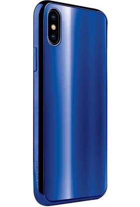 Viva Madrid Apple iPhone XS Max Kılıf Vaso - Mavi