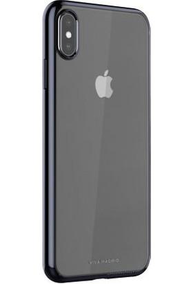 Viva Madrid Apple iPhone XS Max Kılıf Glazo Flex - Kül Rengi