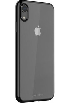 Viva Madrid Apple iPhone XR Kılıf Glazo Flex - Siyah