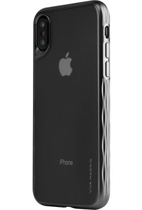 Viva Madrid Apple iPhone X Kılıf Glosa Mist-Siyah