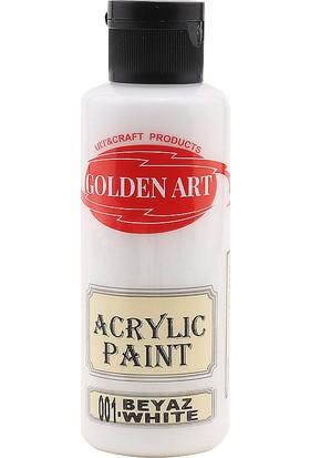 Golden Art Akrilik Boya 130 Cc Beyaz 001