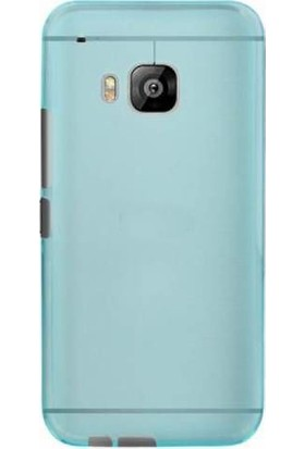 TeknoArea HTC One M9 kılıf ince 0.2 mm Silikon Kapak