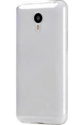 TeknoArea Meizu MX4 Pro kılıf ince 0.2 mm Silikon Kapak