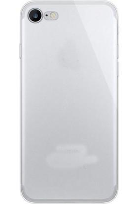 TeknoArea Apple iPhone 8 Kılıf Ultra ince Silikon Kapak 0.2 mm