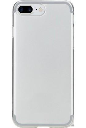 TeknoArea Apple iPhone 8 Plus Kılıf Ultra ince Silikon Kapak 0.2 mm