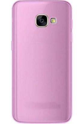 TeknoArea Samsung Galaxy A3 2017 Ultra İnce Silikon Kapak 0.2 mm