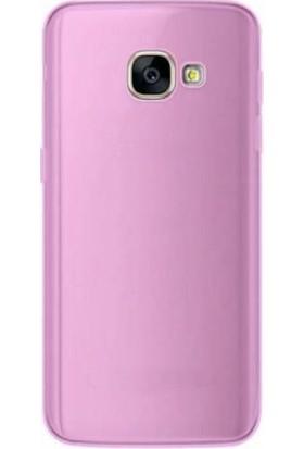 TeknoArea Samsung Galaxy A7 2017 Ultra İnce Silikon Kapak 0.2 mm