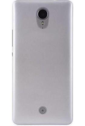 TeknoArea Casper Via E1C Ultra İnce Silikon Kapak 0.2 mm
