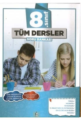 Bkd Yayınları 8. Sınıf Tüm Dersler Soru Bankası