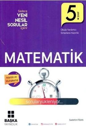 Başka Yayınları 5. Sınıf Matematik Yeni Nesil Sorular