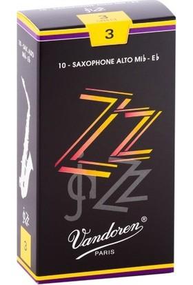 Vandoren Zz SR413 Alto Saksafon Kamışı No:3