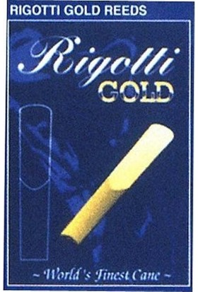 Rigotti Gold Klarnet Kamışı (1,5 Numara)