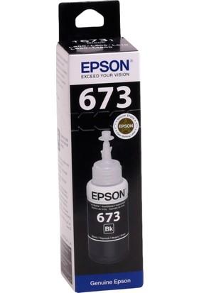 Epson T6731BK Siyah Mürekkep Kartuş L800-L805-L810-L850-L1800 (70ml)
