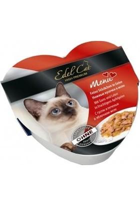 Edel Cat Kaz Ve Ciğerli Kedi Konservesi 85 Gr