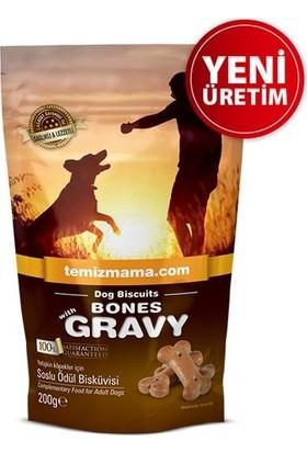 Bones With Gravy Soslu Ödül Bisküvisi 200 Gr