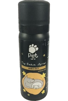 Pet Love Vanilya Özlü Kedi Köpek Parfümü 50 Ml