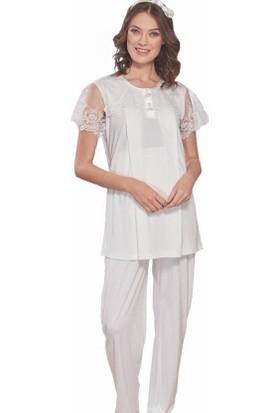 Emose 3970 Lohusa-Hamile KısaKol Pijama Takım