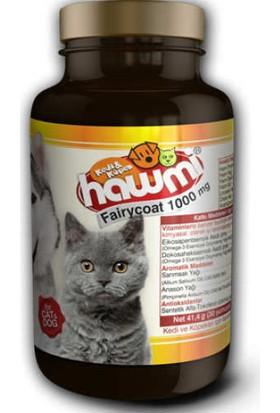 Hawmi Fairycoat 1000 Mg Kedi Ve Köpekler İçin Tüy Deri Geliştirici Yağ Karışımı Formülü