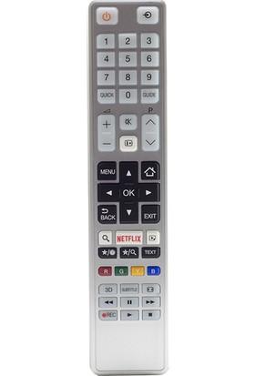 Weko Kl Toshıba Ct-8054 Netflıx Tuslu Beyaz Lcd/Led Tv Kumanda