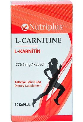 Nutriplus L-Karnitin 60 Kapsül