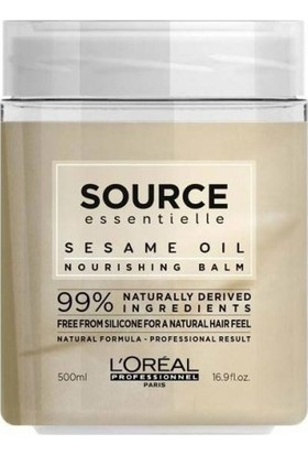 L'Oréal Professionnel Source Essentielle Kuru Saçlar İçin %99 Doğal Besleyici Maske 500ml