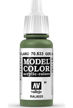 Vallejo Modelcolor 17Ml 080-833 Ger.Cam.Brıg.Green