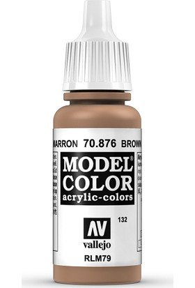 Vallejo Modelcolor 17Ml 132-876 Brown Sand