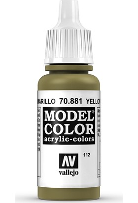 Vallejo Modelcolor 17Ml 112-881 Yellow Green