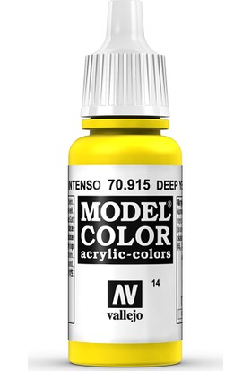 Vallejo Modelcolor 17Ml 014-915 Deep Yellow