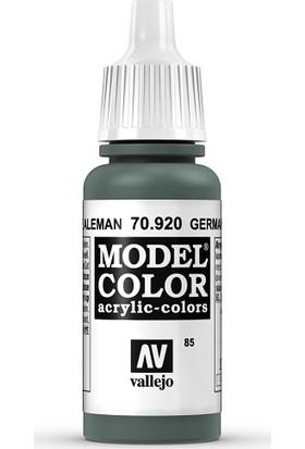 Vallejo Modelcolor 17Ml 085-920 German Unıform