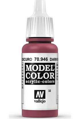 Vallejo Modelcolor 17Ml 032-946 Dark Red