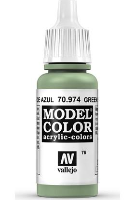Vallejo Modelcolor 17Ml 076-974 Green Sky