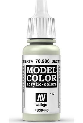 Vallejo Modelcolor 17Ml 110-986 Deck Tan