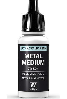 Vallejo Metal Medıum 70.521 17Ml