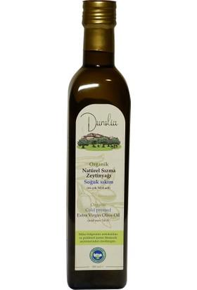 Dunolia Organik Natürel Sızma Zeytinyağı 500 ml Soğuk Sıkım