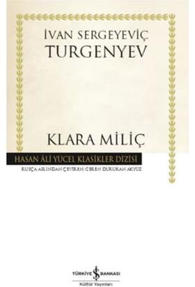 Klara Miliç (Karton Kapak) - Ivan Sergeyeviç Turgenyev