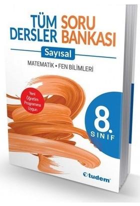 Tudem 8.Sınıf Tüm Dersler Sayısal Soru Bankası
