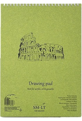 Sm Drawing Pads Authentic Acrylic A4 20Yp 290Gr