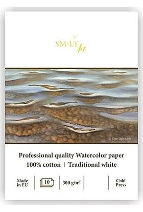 Sm Watercolor Pad A4 10Yp 300Gr